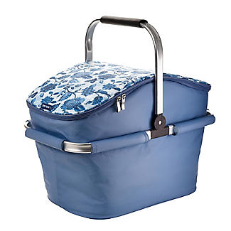 Summer Blooms Insulated Picnic Basket 22L