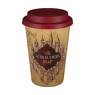Huskup Reusable Eco Cup – Harry Potter Marauders Map 400ml alt image 1