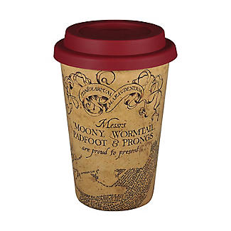 Huskup Reusable Eco Cup – Harry Potter Marauders Map 400ml alt image 2