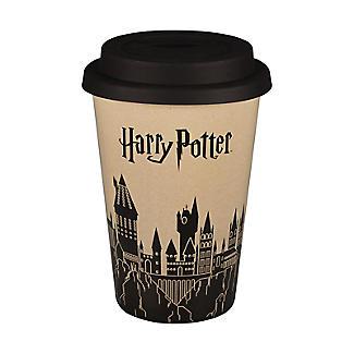 Huskup Reusable Eco Cup – Harry Potter Hogwarts Castle 400ml alt image 2