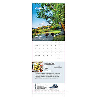 Lakeland 2019 Calendar with Recipes and Charity Donation alt image 4