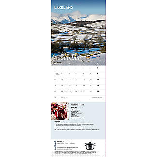 Lakeland 2019 Calendar with Recipes and Charity Donation alt image 6
