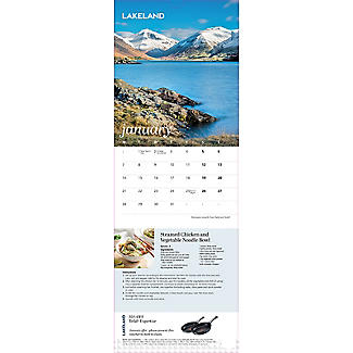 Lakeland 2019 Calendar with Recipes and Charity Donation alt image 7