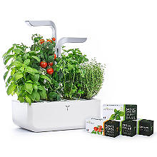 Veritable Smart Indoor Garden Kit – 4 Seed Varieties