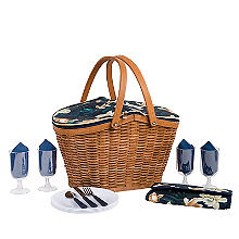Summerhouse Java 4-Person  Picnic Basket Cooler