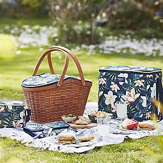 Summerhouse Java 4-Person  Picnic Basket Cooler alt image 4