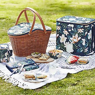 Summerhouse Java 4-Person  Picnic Basket Cooler alt image 5