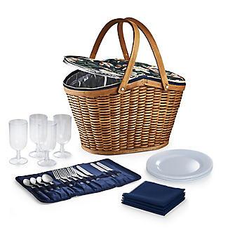 Summerhouse Java 4-Person  Picnic Basket Cooler alt image 6