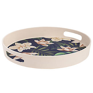 Summerhouse Java Round Bamboo Tray