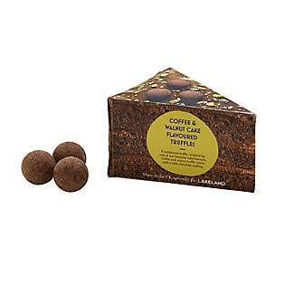 Lakeland Coffee and Walnut Cake Flavoured Truffles 80g