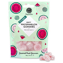 SugarSin Juicy Watermelon Gourmet Fruit Gummies Pouch 80g