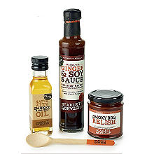 Scarlett and Mustard BBQ Condiments – Set of 3