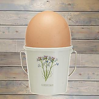 Lakeland Floral Egg Cup Buckets – Set of 4 alt image 2