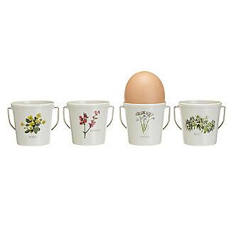 Lakeland Floral Egg Cup Buckets – Set of 4 alt image 3