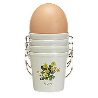Lakeland Floral Egg Cup Buckets – Set of 4 alt image 4