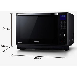 Panasonic 4-in-1 Steam Combination Microwave Oven NN-DS596BBPQ alt image 3