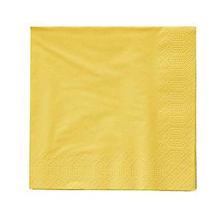 20 Yellow 3-Ply Napkins alt image 2