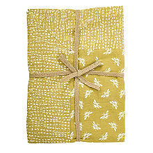 Walton & Co. Bee Tablecloth Yellow 100 x 100cm