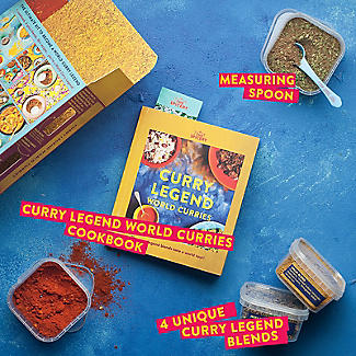 The Spicery Curry Legend World Curries Cookbook and Spices Gift Set alt image 4