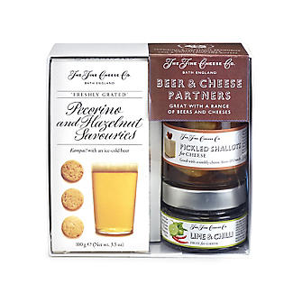 Fine Cheese Beer & Cheese Gift Set