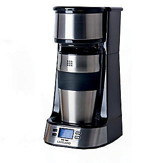 Lakeland Digital To Go Coffee Machine with Travel Mug