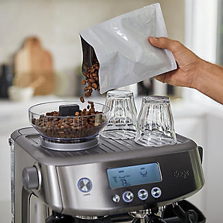Sage The Barista Pro Bean-to-Cup Coffee Machine SES878BSS alt image 5