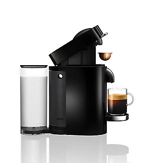 Nespresso Magimix VertuoPlus Coffee Machine with Milk Frother Black 11387 alt image 4
