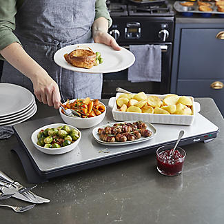 Swan Extra Large Cordless Warming Tray SW12SS alt image 3