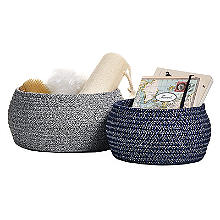 Lakeland Belly Shaped Baskets – Pack of 2
