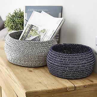 Lakeland Belly Shaped Baskets – Pack of 2 alt image 2