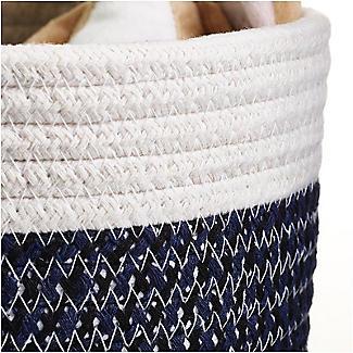 Lakeland Two Tone Rope Baskets – Pack of 2 alt image 3