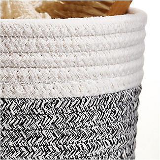 Lakeland Two Tone Rope Baskets – Pack of 2 alt image 4