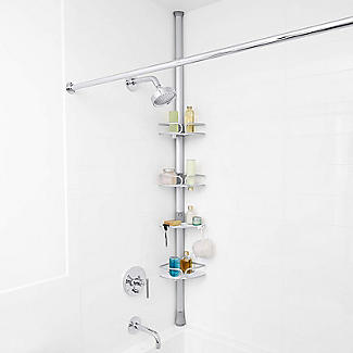 OXO Good Grips Extendable Corner Shower Caddy alt image 2