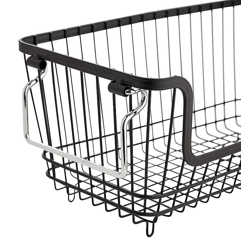 Lakeland Multi-Purpose Stackable Wire Storage Basket | Lakeland