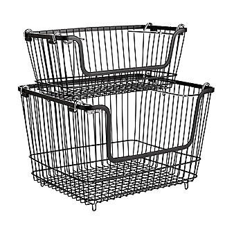Lakeland Multi-Purpose Stackable Wire Storage Basket alt image 7