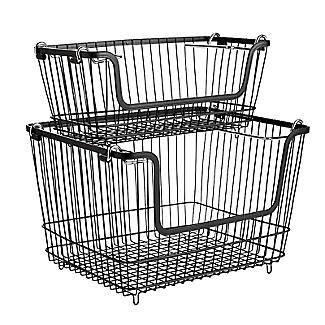 Lakeland Large Stackable Wire Basket alt image 7