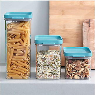 Mepal Omnia 3-Piece Food Storage Container Set Nordic Green alt image 2