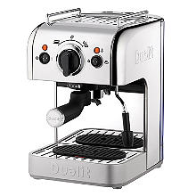 Dualit 3-in-1 MultiBrew Espresso Coffee Machine Silver DCM2X
