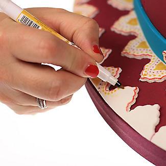 5 Rainbow Dust Double-Ended Edible Food Art Pens alt image 8