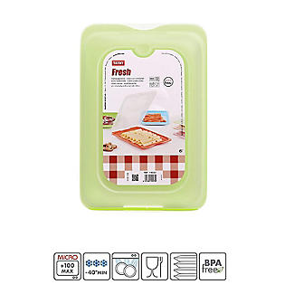 Tatay Fresh Cold Cut Fridge Storage Box Green alt image 3
