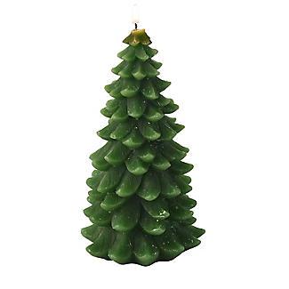 Large Christmas Tree Candle 17cm