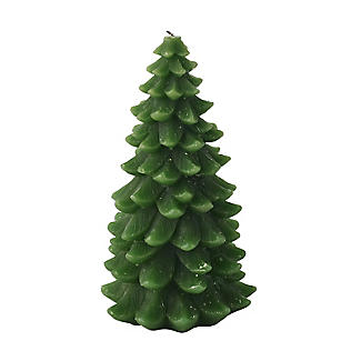 Large Christmas Tree Candle 17cm alt image 3