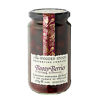 The Wooden Spoon Preserving Company Boozy Berries in Syrup 475g