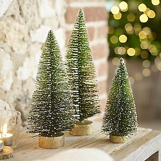 Decorative Tabletop Christmas Tree - 30cm H. alt image 2