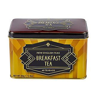 New English Teas Art Deco Tea Tin and Tea Bags – 40 Tea Bags alt image 2