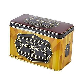 New English Teas Art Deco Tea Tin and Tea Bags – 40 Tea Bags alt image 4