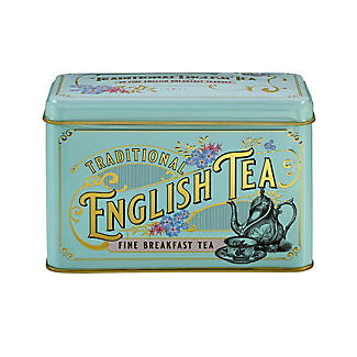 New English Teas Victorian Tea Tin and 40 Tea Bags