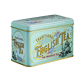 New English Teas Victorian Tea Tin and 40 Tea Bags alt image 2
