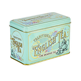 New English Teas Victorian Tea Tin and 40 Tea Bags alt image 3