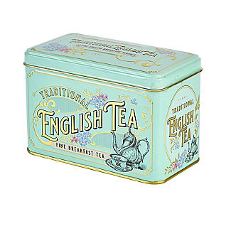New English Teas Victorian Tea Tin and 40 Tea Bags alt image 4